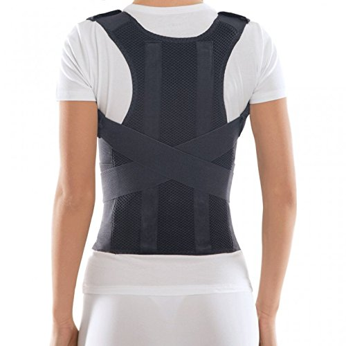 TOROS-Group Comfort Posture Corrector Shoulder and Back Brace Support Lumbar Support for Men and Women (Medium) by TOROS-GROUP