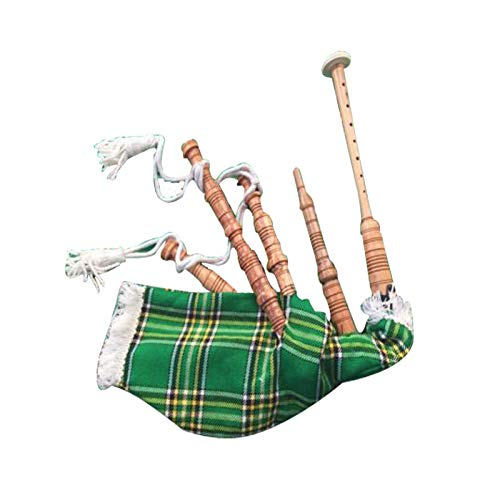 Kids Playable Bagpipe/Junior Playable Bagpipes/Child Toy Bagpipe Various Tartans (Irish)