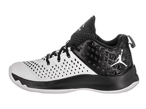 Nike Jordan extra.Fly (GS) Baloncesto infantil Guantes Blanco (White/Black)