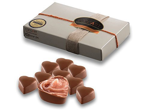 CocoArt Gourmet Strawberry Chocolate Truffles, Kosher, 12 Pieces Box