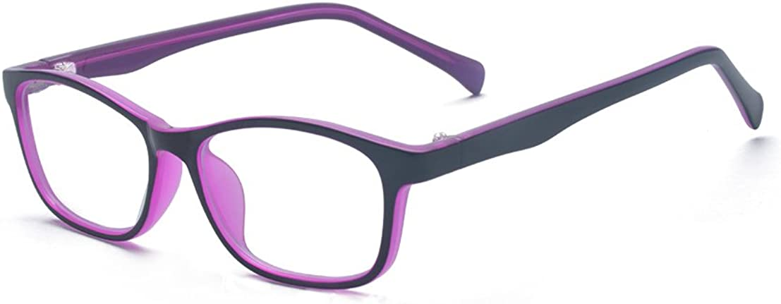 ALWAYSUV Classic Non-Prescription Clear Lenses Glasses Frame Eyewear For Kids//Teens