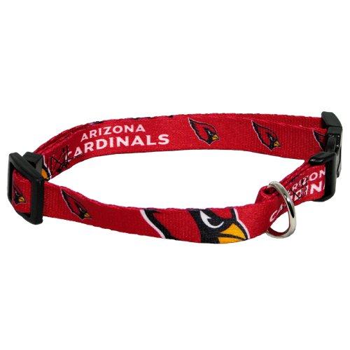 Hunter MFG Arizona Cardinals Dog Collar, Medium