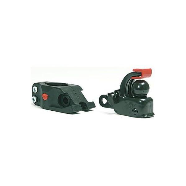 41XzvXm2vDL Hebie Unisex– Erwachsene Anhängerkupplung-2067006000 Anhängerkupplung Set, schwarz, One Size