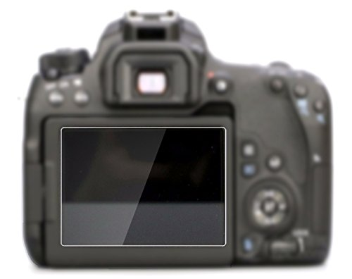 Canon EOS 77D Tempered Glass Screen Protector Skin Film, PCT