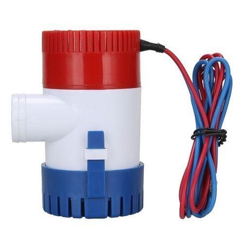 Bomba de agua sumergible NUZAMAS para caravanas, barcos, piscinas y fuentes 12 V 1100GPH