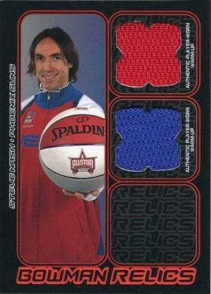 Steve Nash Unsigned 2006 Topps Jersey Card - Basketball Game Used Cards