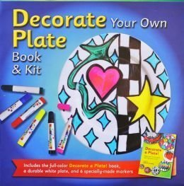 Decorate Your Own Plate Book& Kit -