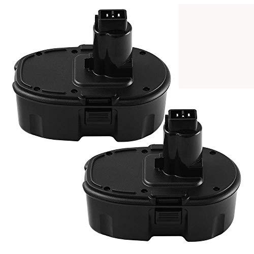 (2 Packs 18V 3.8Ah DC9096 Battery for Dewalt 18V Battery XRP DC9096 DC9098 DC9099 DE9098 DE9503 DW9095 DW9096 DW9098 Cordless Power Tools)