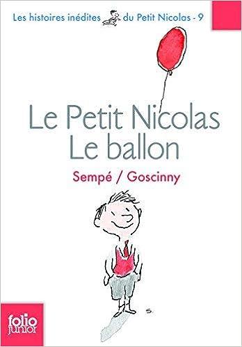 Petit Nicolas Le Ballon Folio Junior French Edition By