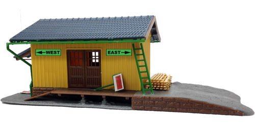 Model Power 202 Small Freight Station Kit HO by Model Power