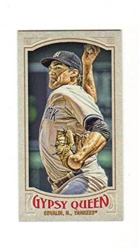 2016 Topps Gypsy Queen Baseball Mini Parallel #216 Nathan Eovaldi Yankees