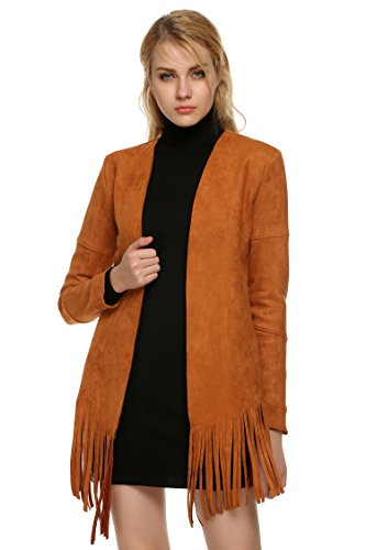 Brown Suede Jacket - 9