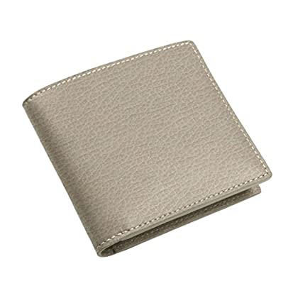 Image of Lucrin - Classic Wallet - Light Taupe - Granulated Leather Luggage