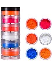 Kamonda 6/24 Colors Cosmetic Grade Pearlescent Mica Powder Epoxy Resin Dye Pearl Pigment Pearlescent Powder