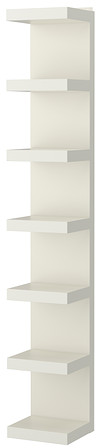 LACK Wall shelf unit - white - IKEA