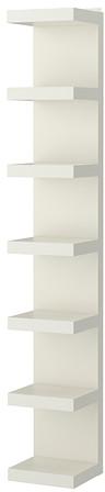LACK Wall shelf unit - white - IKEA