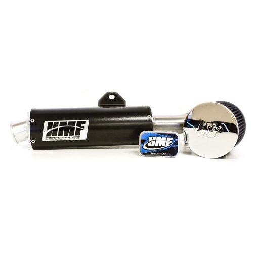 HMF Honda TRX 400EX 1999 - 2014 Black Slip On Exhaust Muffler & Jet Kit + (400ex Muffler Cap)
