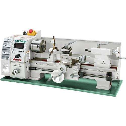 Grizzly G0768 Variable-Speed Lathe, 8 x 16'' by Grizzly