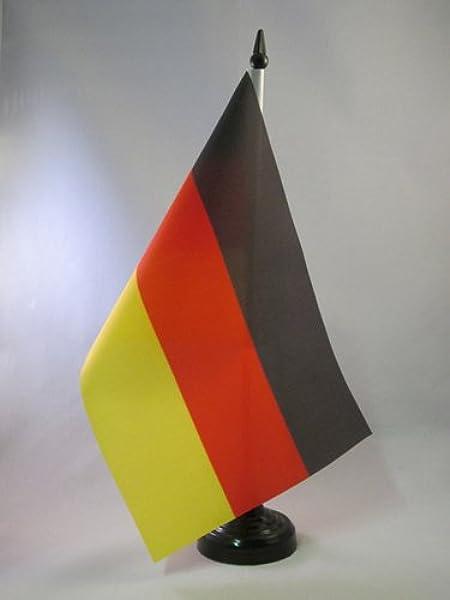 AZ FLAG Bandera de Mesa de Alemania 21x14cm - BANDERINA de ...