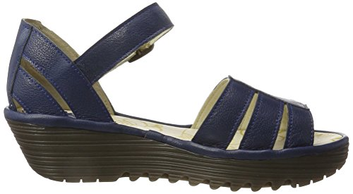 Fly London Damen Rese730fly Sandali Blau (blu 002)