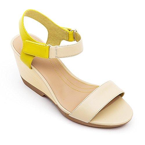 3fef4f53c18f ... Sandalen Sandaletten Lederschuhe Schuhe ,. Camper Laura Wedge Damen  Sandalen