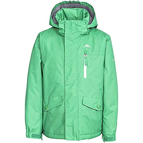 Trespass Childrens Boys Ballast Waterproof Jacket (7/8 Years) (Clover)