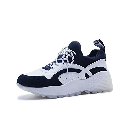 Casual 37 Gym Platform Girls Ladies Lightweight Shoes Women's Black Top and Canvas Color Sports Casual Size Fall Low Shoes Sneakers Spring Flat Shoes Womens waUqSg4