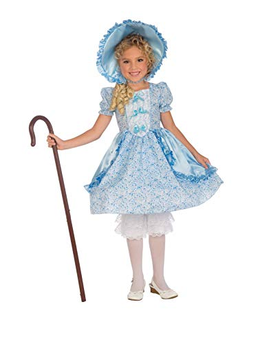 Forum Novelties Girls Lil' Bo Peep Costume, Small, One Color]()