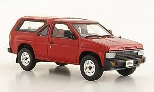 Nissan Terrano (R3M), rojo metálico, 3 puertas, RHD , 1986, Modelo de Auto, modello completo, Hi-Story 1:43
