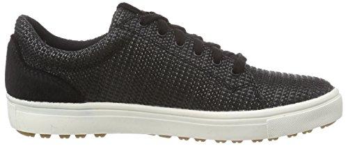 23609 Noir Basses Sneakers 009 Tamaris Femme black Woven Ax1SA7