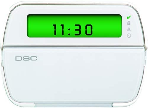DSC TYCO PowerSeries PK5501ENG 64-Zone LCD Picture Icon Keypad