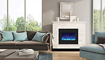 Amantii Zero Series Built-in Electric Fireplace (ZECL-26-2923-BG), 26-Inch