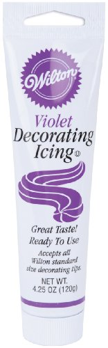 Wilton Violet Icing Tube