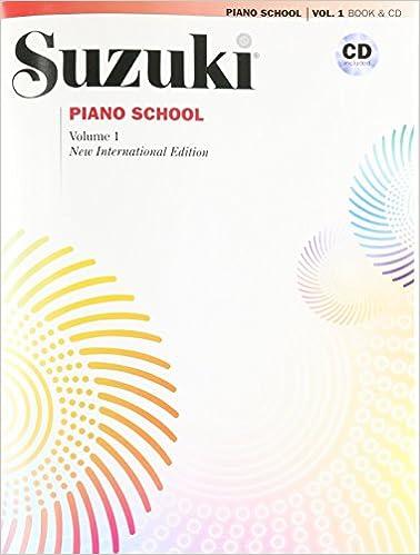 Suzuki Piano School New International Edition Piano Book and