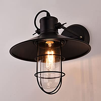 Harbor Sconce Wall Light Industrial Retro Warehouse Style Edison Vintage Bulb