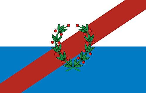 DIPLOMAT-FLAGS provincia argentina de La Rioja Bandera | bandera paisaje | 0.06m² | 20x30cm Banderas de Coche