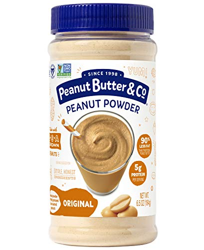 (Peanut Butter & Co. Original Peanut Powder, Non-GMO Project Verified, Gluten Free, Vegan, 6.5 oz Jar )