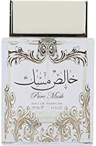 Khalis Musk Perfume by Lattafa for Unisex , 100ml, Eau de Parfum