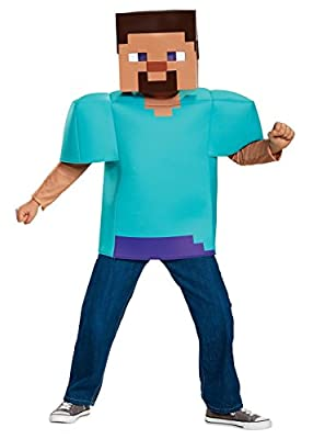 Disguise Steve Classic Minecraft Costume