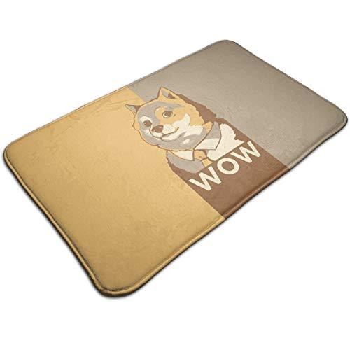 AZOULA Wow Doge Indoor Outdoor Doormat Welcome Doormat Bathroom Mats (Machine-Washable/Non-Slip) 31.5
