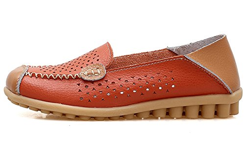 80a426bef7c VenusCelia Women s Floral Comfort Walking Flat Loafer