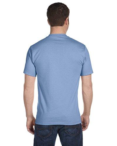 (Hanes Men's Comfortsoft T-Shirt, 2 Deep Royal / 2 Light Blue, 2XL (Pack of 4))