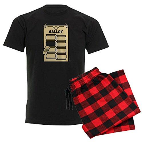 CafePress HIMYM Hanging Chad - Unisex Novelty Cotton Pajama Set, Comfortable PJ (Halloween Ballots)