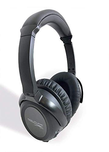 Solitude Wireless Active Noise Cancelling Headphone, Over-Ear, Built for Comfort, Great for Work from Home