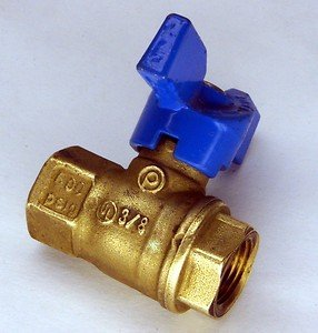 "Jomar New 3/8"" Npt Ball Valve Lockoff Lock Off Propane Or Natural Gas 3/8 600 Psig Lpg by Jomar"