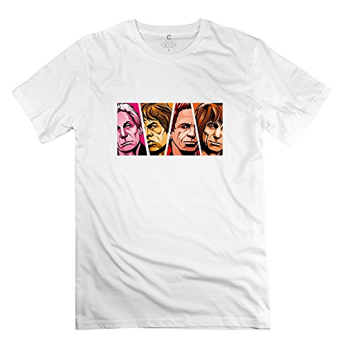 Z'Hang The Rolling Stones T Shirt For Men X-Small
