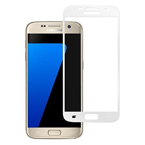 Protector de pantalla de cristal templado S7 Edge, MuStone S7 Edge Protectores de pantalla de vidrio templado curvo 3D [Instalación fácil] [Sin burbujas] ...