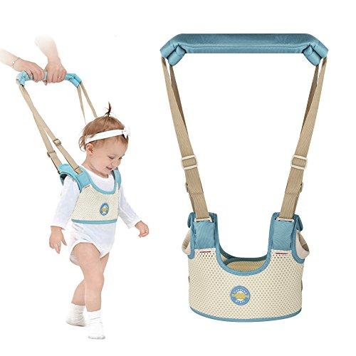 Accmor Baby Walking Harness Handheld Baby Walker, Adjustable Toddler Walking Assistant Walking Helper for Infant Child, Breathable Stand Up and Walking Learning Helper for Boys Girls from Accmor