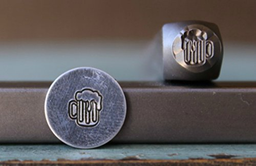 Brand New 6mm Beer Mug Metal Punch Design Stamp - Supply Guy - CH-168 by The Supply Guy