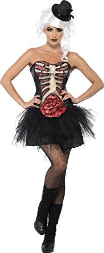 Smiffys Women's Grotesque Burlesque (Burlesque Halloween Costume Uk)